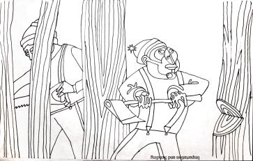 lumberjacks sketch